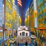 Checkpoint Charlie - Acryl auf LW/KR, 40 x 60 cm