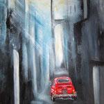 il cinquecento in giro, Acryl auf Leinwand/Keilrahmen, 60 x 40 cm - WVZ 2016-09