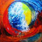 im Fokus - WVZ 2014 - 41 - Acryl auf LW/KR, 50 x 50 cm