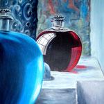 Parfum, Acryl auf LW/KR, 60 x 70 cm