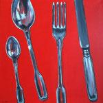posate -2- Acryl auf LW/KR, 50 x 50 cm