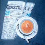 bella abitudine -2-, Acryl auf LW/KR, 30 x 30 cm