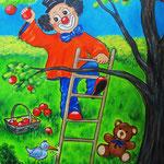 6. Apfelernte - verkauft -