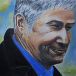 ein Berliner, Acryl auf Malpappe, 40 x 40 cm