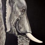 o.T. Acryl auf Leinwand/KR, 40 x 60 cm