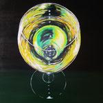 vino bianco - Acryl auf LW/KR, 60 x 80 cm