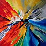Metamorphose der Farben - WVZ 2017-27 - Acryl auf LW/KR, 80 x 80 cm