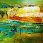 ausgemustert - Acryl auf LW/KR, 50 x 40 cm