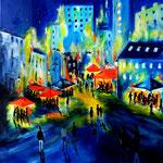 meeting-place - WVZ 2016-16 - Acryl auf LW/KR, 50 x 50 cm