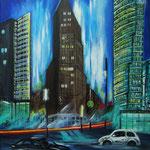 Potsdamer Platz - Acryl auf LW/KR, 40 x 50 cm