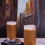 caffelatte - Acryl auf LW/KR, 40 x 60 cm