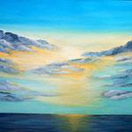Ort zum Träumen, Acryl auf LW/KR, 100 x 70 cm