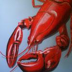 il gambero del mare - Acryl auf LW/KR, 60 x 80 cm