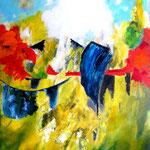 spirit of summer - WVZ 2015-21 - Acryl auf LW/KR, 60 x 80 cm