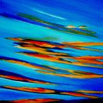 tramonto - Acryl auf LW/KR, 60 x 80 cm