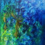 sentimenti - WVZ 2014-20 - Acryl auf LW/KR, 40 x 50 cm