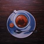caffè ristretto - Acryl auf LW/KR, 40 x 40 cm