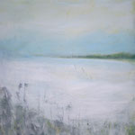 ein Hauch Frost - WVZ 2014-46 - Acryl auf LW/KR, 40 x 60 cm