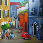 compagni - Acryl auf Leinwand /Keilrahmen, 50 x 50 cm - WVZ 2013-09 verkauft