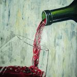 vino novello - Acryl auf LW/KR, 40 x 50 cm