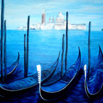 buongiorno Venezia, Acryl auf Leinwand/Keilrahmen, 50 x 70 cm