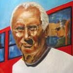 Tomi, Acryl auf LW/KR, 40 x 50 cm