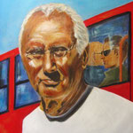 Tomi, Acryl auf LW/KR, 50 x 40 cm