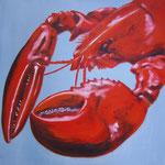 il gambero del mare -2-  Acryl auf LW/KR, 60 x 60 cm
