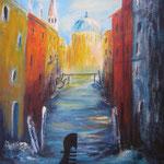 Venezia -2-, Acryl auf Leinwand/Keilrahmen, 50 x 40 cm - WVZ 2012-36