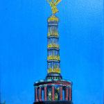 149 - Goldelse - Acryl auf L/KR, 15 x 20 cm