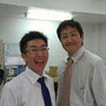 こちらが社長の森さんと、楽しい平野さん。森さんはナント、ミヤモトよりも背が高い!( ゜Д゜)