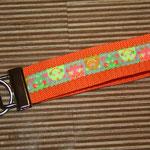 """orange mit Webband """"Neon-Monster"""", 22 cm"""
