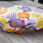 """Apfel retro lila; Größe """"midi"""" Material: BW beschichtet"""