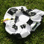 "Fußball mit Webband ""Ruhrpott""; Größe ""maxi"" Material: BW beschichtet"