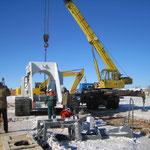 Übergabe Biegemaschine in  Russland bei -30° Grad (13)