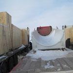 Übergabe Biegemaschine in  Russland bei -30° Grad (4)