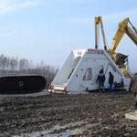 Pipe Bending Machine Einsatz und Übergabe Russland (1)