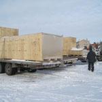 Übergabe Biegemaschine in  Russland bei -30° Grad (3)