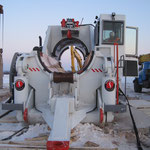 Übergabe Biegemaschine in  Russland bei -30° Grad (28)