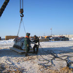 Übergabe Biegemaschine in  Russland bei -30° Grad (24)