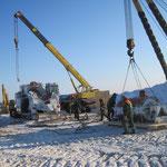 Übergabe Biegemaschine in  Russland bei -30° Grad (27)