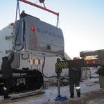 Übergabe Biegemaschine in  Russland bei -30° Grad (20)