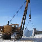 Übergabe Biegemaschine in  Russland bei -30° Grad (6)