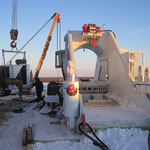 Übergabe Biegemaschine in  Russland bei -30° Grad (18)