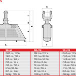 Vacuum Lift Dimensionen