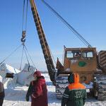 Übergabe Biegemaschine in  Russland bei -30° Grad (5)