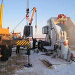 Übergabe Biegemaschine in  Russland bei -30° Grad (19)
