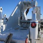 Übergabe Biegemaschine in  Russland bei -30° Grad (16)