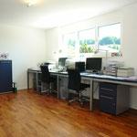 21 m2 grosses Büro im «Untergeschoss». In Zeiten von angesagtem Home Office ein fantastischer Arbeitsplatz!