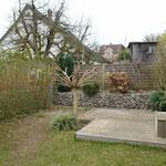 Lounge-Bereich im Garten